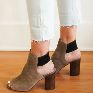 Dolce Vita Rayne Bootie - Taupe Suede